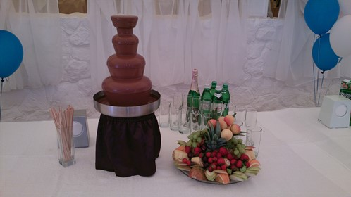 chocolate fountain 6