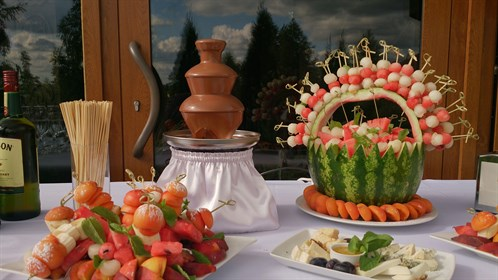 chocolate fountain 11